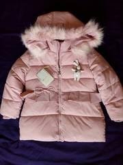 Куртка зимняя (пуховик) на девочку 4-5 лет